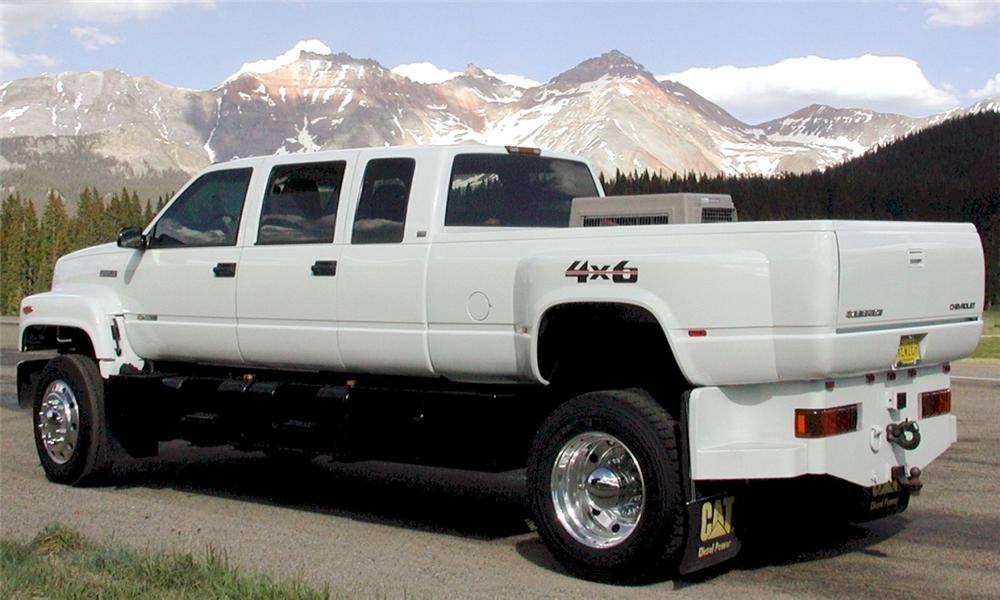 1996 CHEVROLET 5500 5-TON CUSTOM PICKUP - 15597