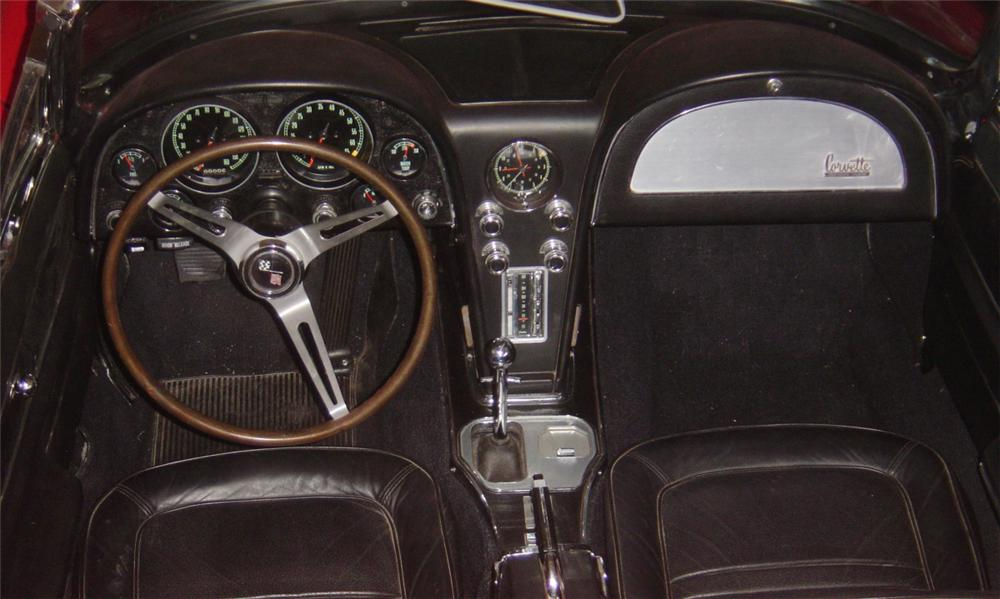 1967 CHEVROLET CORVETTE 427/435 CONVERTIBLE - Interior - 15598