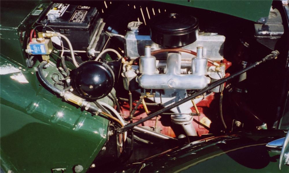 1952 MG TD ROADSTER - Engine - 15614