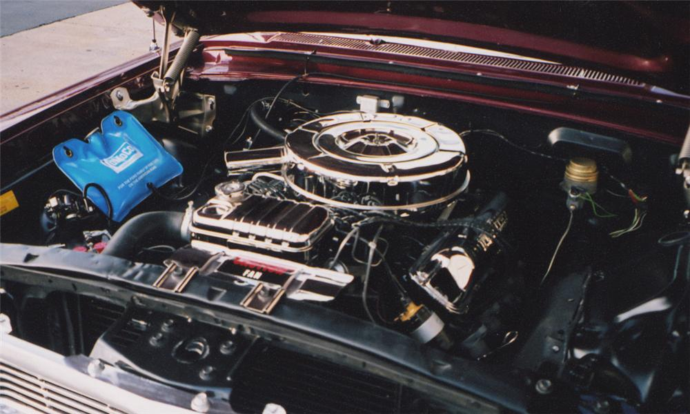 1964 FORD GALAXIE XL CONVERTIBLE - Engine - 15627