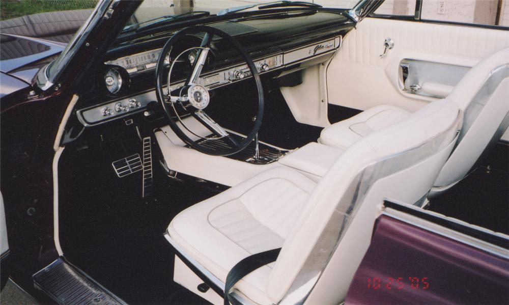 1964 FORD GALAXIE XL CONVERTIBLE - Interior - 15627