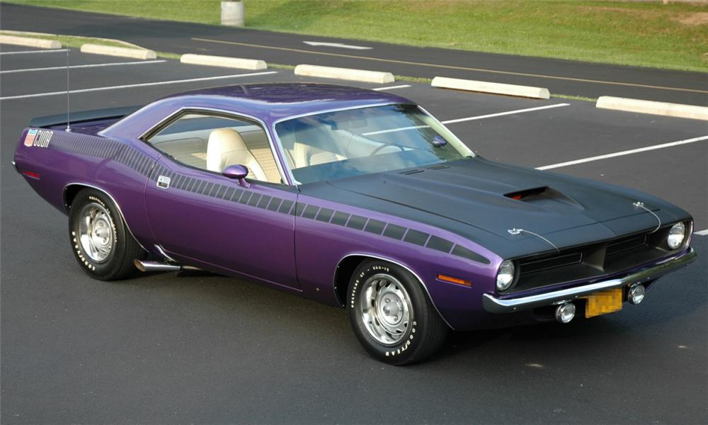 1970 PLYMOUTH CUDA AAR COUPE - Front 3/4 - 15631