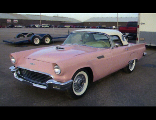 1957 FORD THUNDERBIRD E CONVERTIBLE -  - 15633