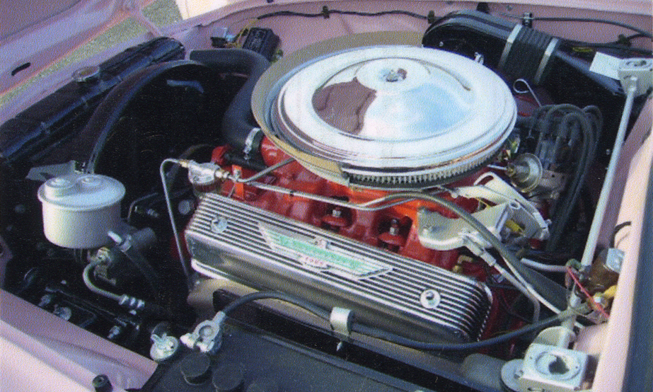 1957 FORD THUNDERBIRD E CONVERTIBLE - Engine - 15633