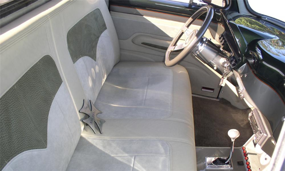 "1954 FORD F-100 CUSTOM PICKUP ""NEMESIS"" - Interior - 15638"