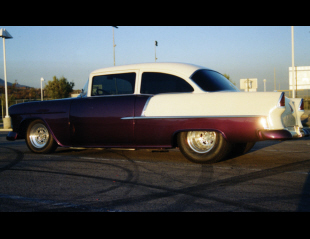 1955 CHEVROLET 210 CUSTOM 2 DOOR SEDAN -  - 15648