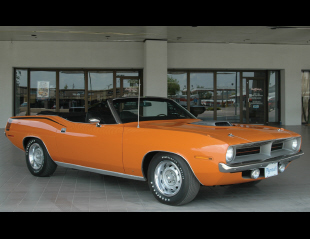 1970 PLYMOUTH HEMI CUDA 2 DOOR CONVERTIBLE -  - 15652