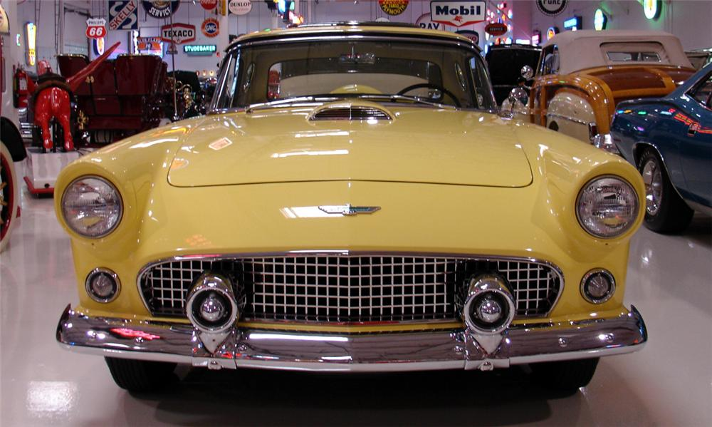 1956 FORD THUNDERBIRD CONVERTIBLE - Side Profile - 15657