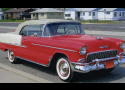 1955 CHEVROLET BEL AIR CONVERTIBLE -  - 15658