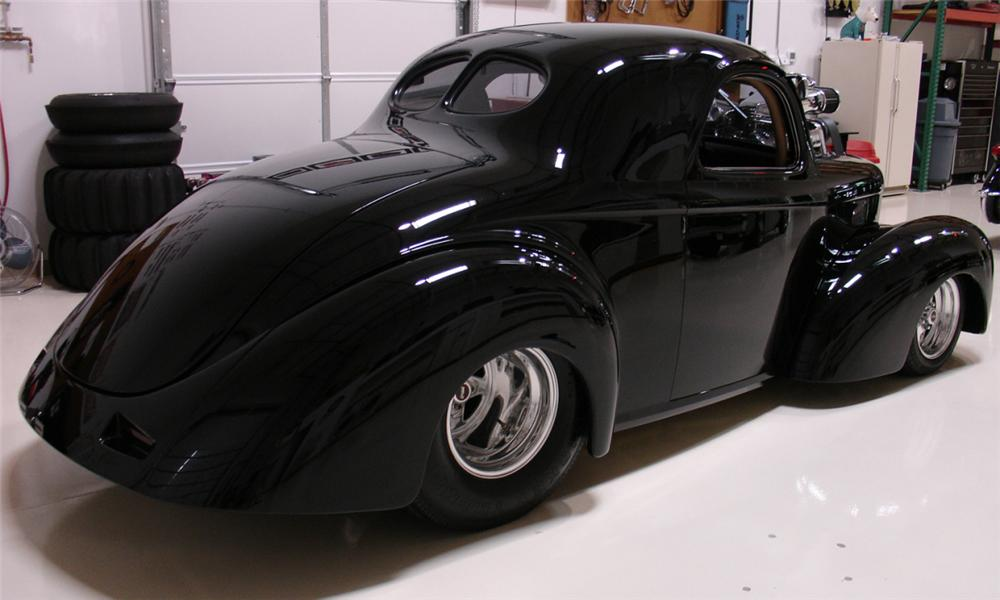1941 WILLYS AMERICAR COUPE - Rear 3/4 - 15669