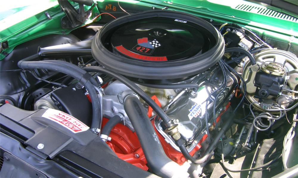 1969 CHEVROLET CAMARO YENKO RE-CREATION COUPE - Engine - 15670