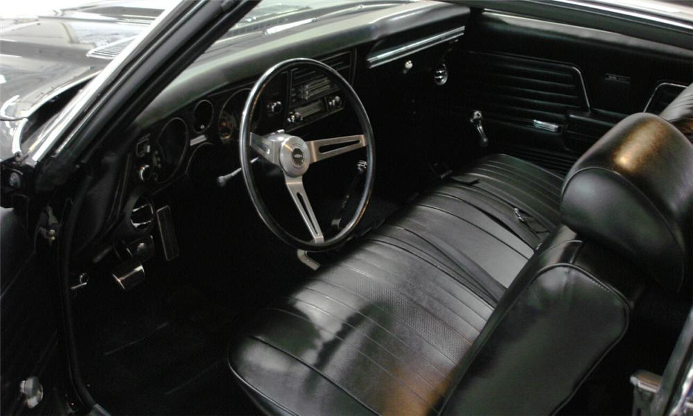 1969 CHEVROLET CHEVELLE 2 DOOR HARDTOP - Interior - 15672