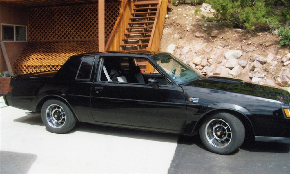 1986 buick regal grand national 2 door hardtop front 3 4 15675. Cars Review. Best American Auto & Cars Review