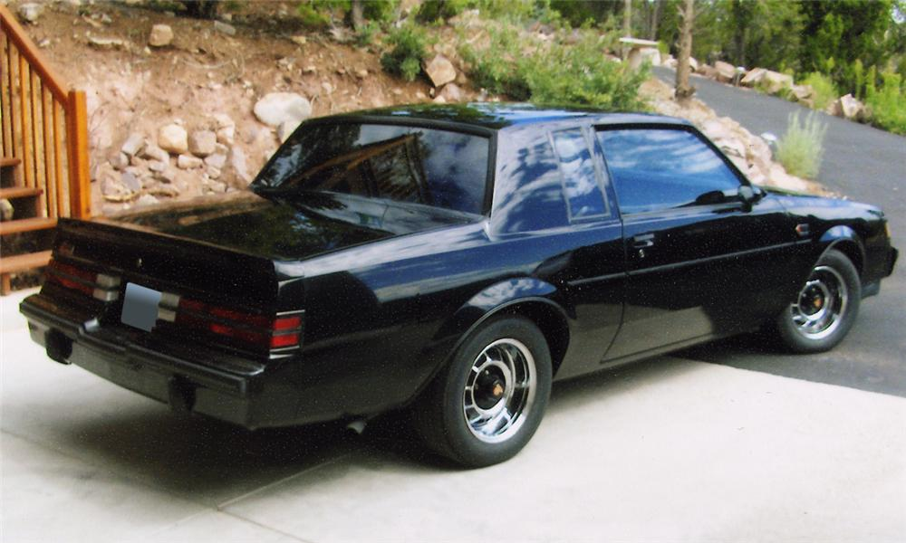 1986 buick regal grand national 2 door hardtop rear 3 4 15675. Cars Review. Best American Auto & Cars Review