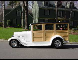 1929 FORD MODEL A WOODY WAGON -  - 15676