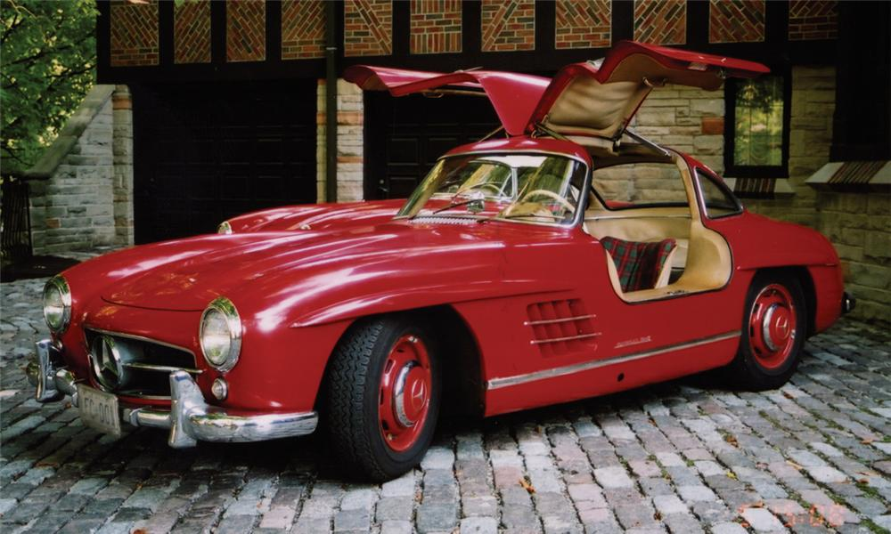 1957 mercedes benz 300sl gullwing coupe 15682. Black Bedroom Furniture Sets. Home Design Ideas