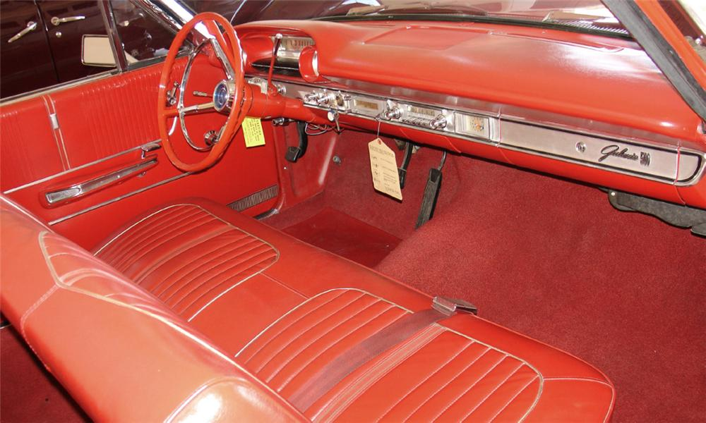1964 FORD GALAXIE 500 CONVERTIBLE - Interior - 15687