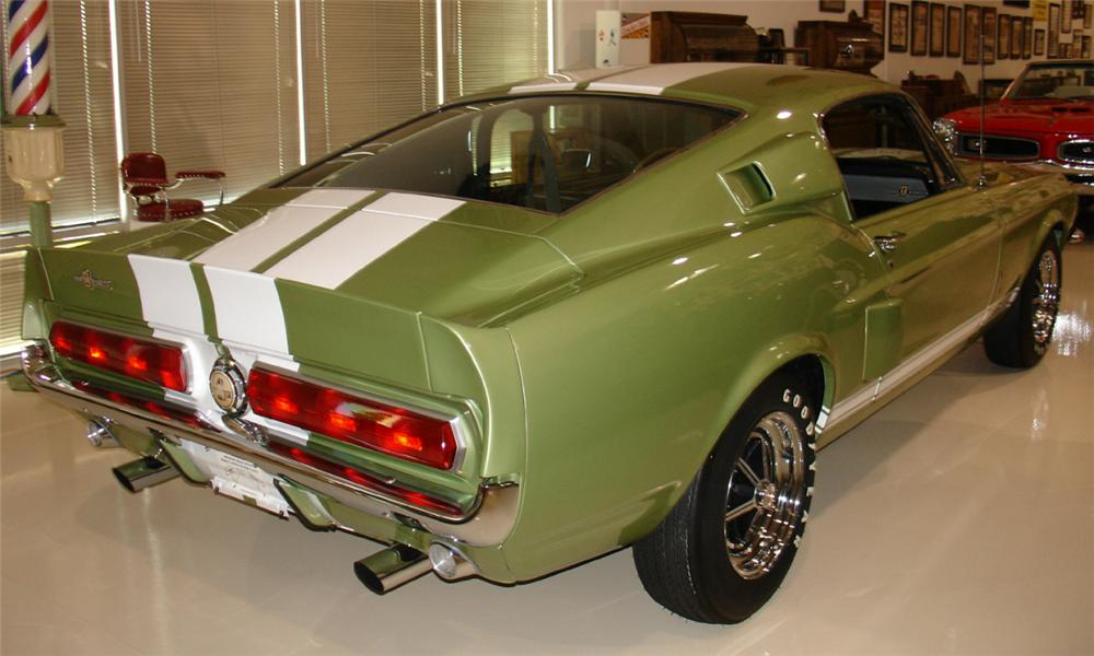 1967 SHELBY GT500 FASTBACK - Rear 3/4 - 15688