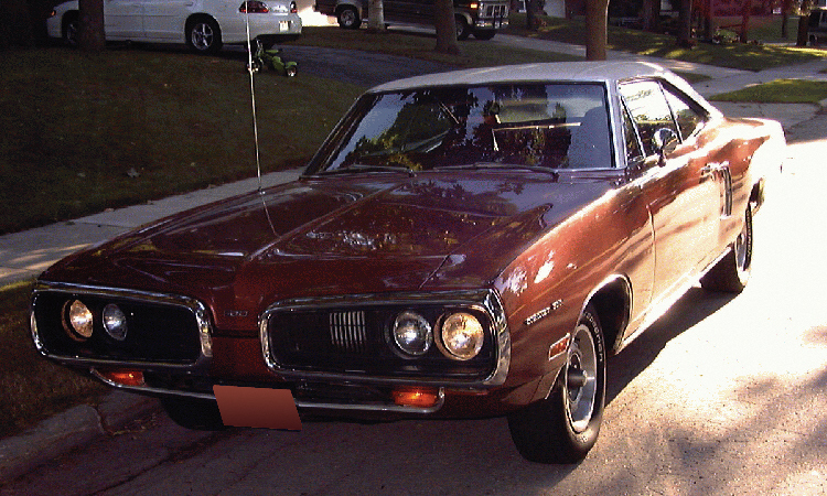 1970 DODGE CORONET 500 COUPE - Front 3/4 - 15703