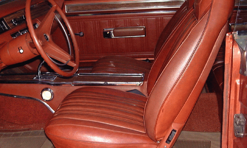 1970 DODGE CORONET 500 COUPE - Interior - 15703