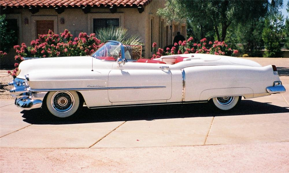 1953 CADILLAC ELDORADO CONVERTIBLE - Side Profile - 15708