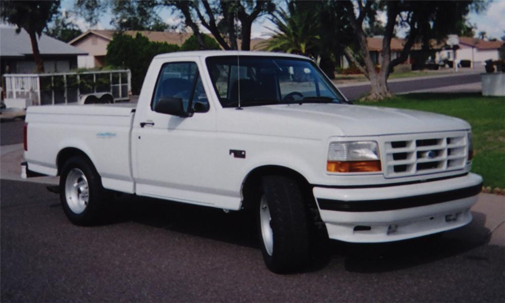 Front Web on 1992 Ford F 150 Lightning