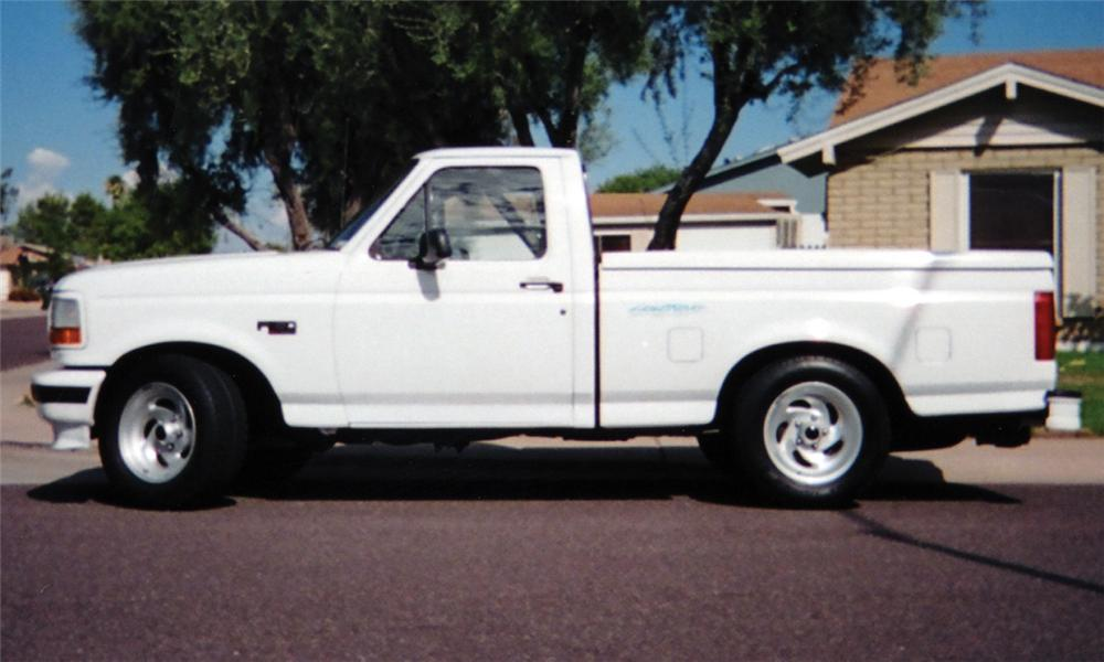 Side Profile Web on 1994 Ford F 150 Engine Size