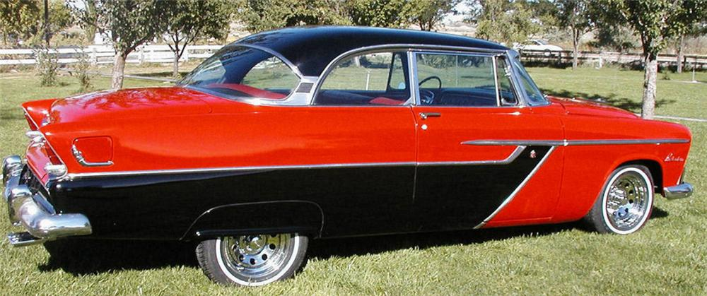 1955 PLYMOUTH BELVEDERE 2 DOOR SPORT COUPE - Side Profile - 15723