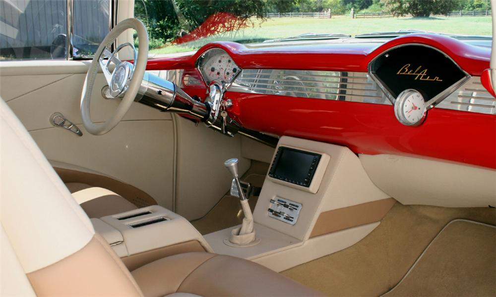 1955 CHEVROLET NOMAD CUSTOM WAGON - Interior - 15726