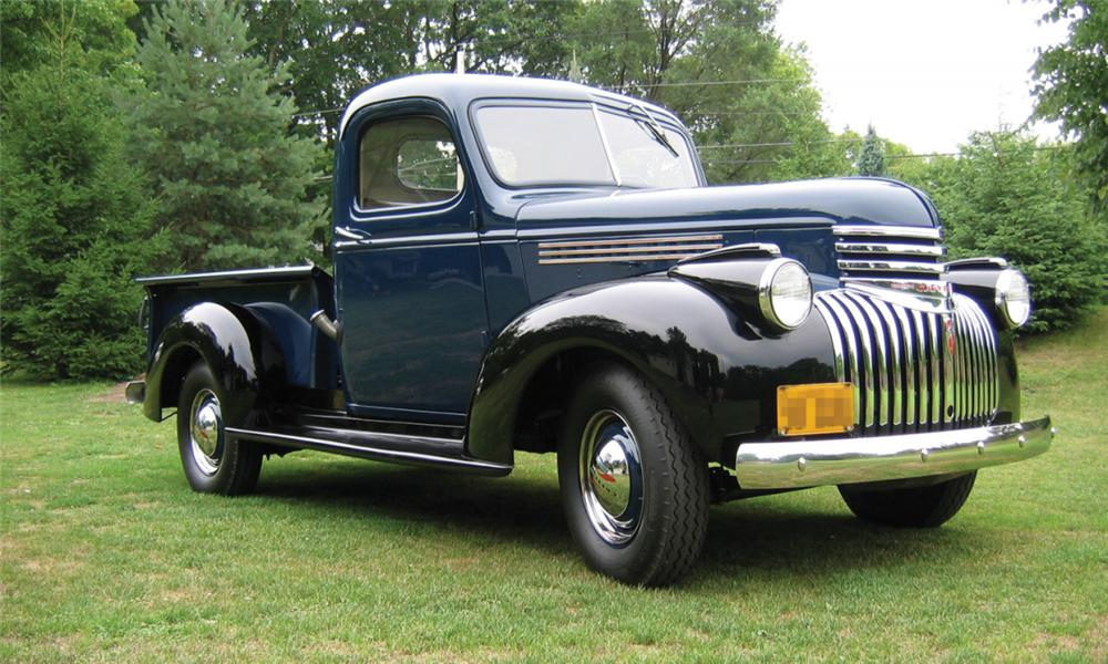1941 CHEVROLET 1/2 TON PICKUP - Front 3/4 - 15727