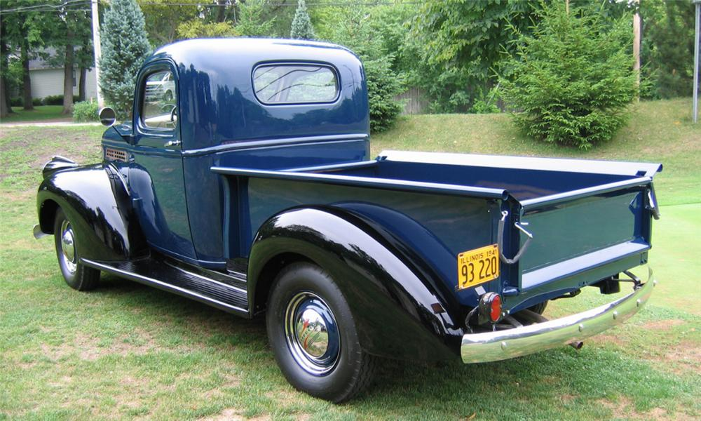 1941 chevrolet 1 2 ton pickup 15727. Black Bedroom Furniture Sets. Home Design Ideas