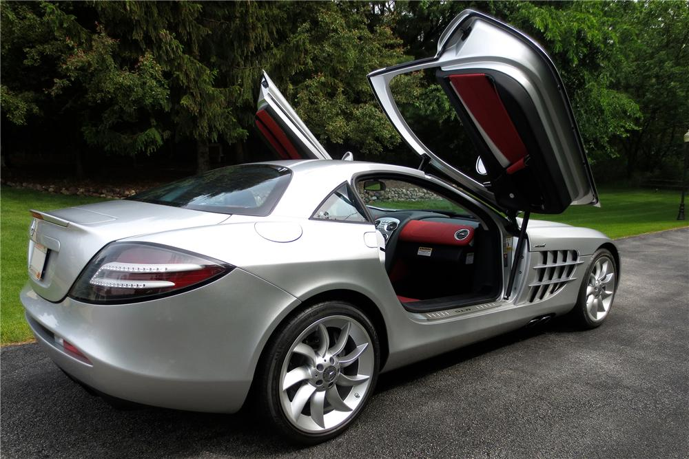 2006 MERCEDES-BENZ SLR MCLAREN 2 DOOR COUPE - Rear 3/4 - 157303