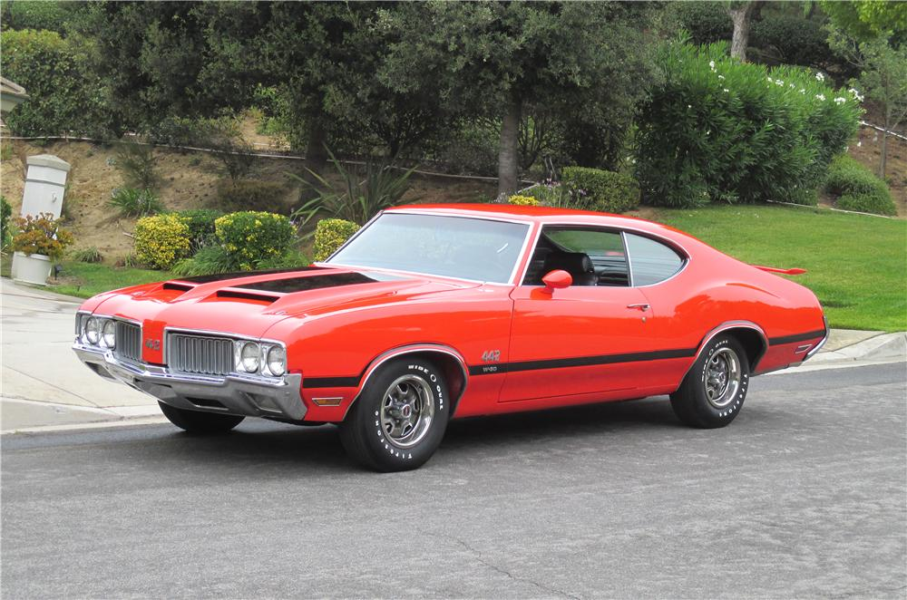 1970 OLDSMOBILE 442 W30 2 DOOR COUPE - Engine - 157305