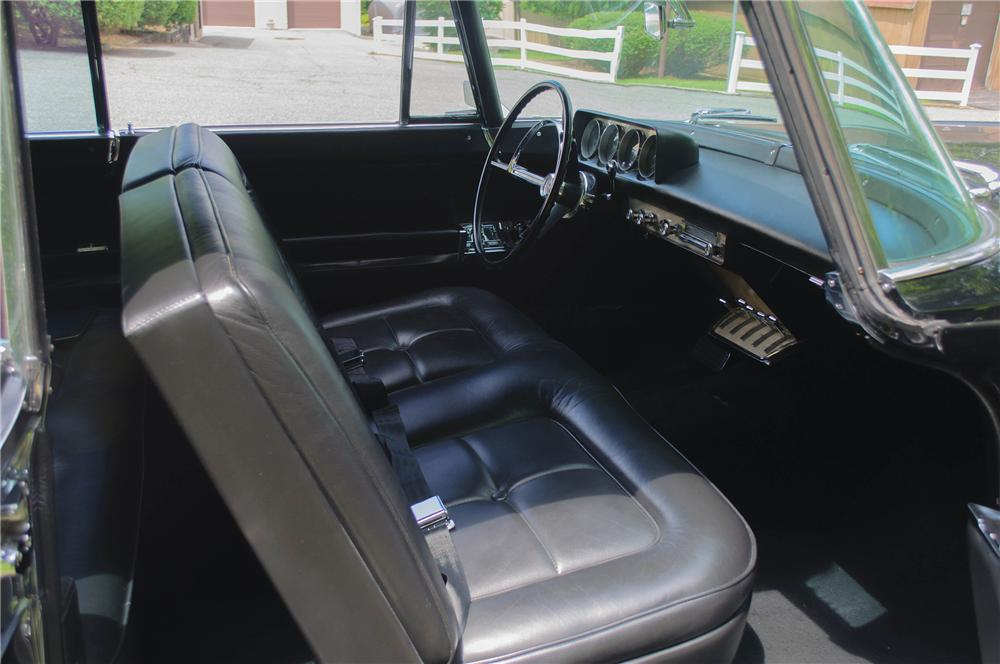 1956 LINCOLN CONTINENTAL MARK II 2 DOOR COUPE - Interior - 157313