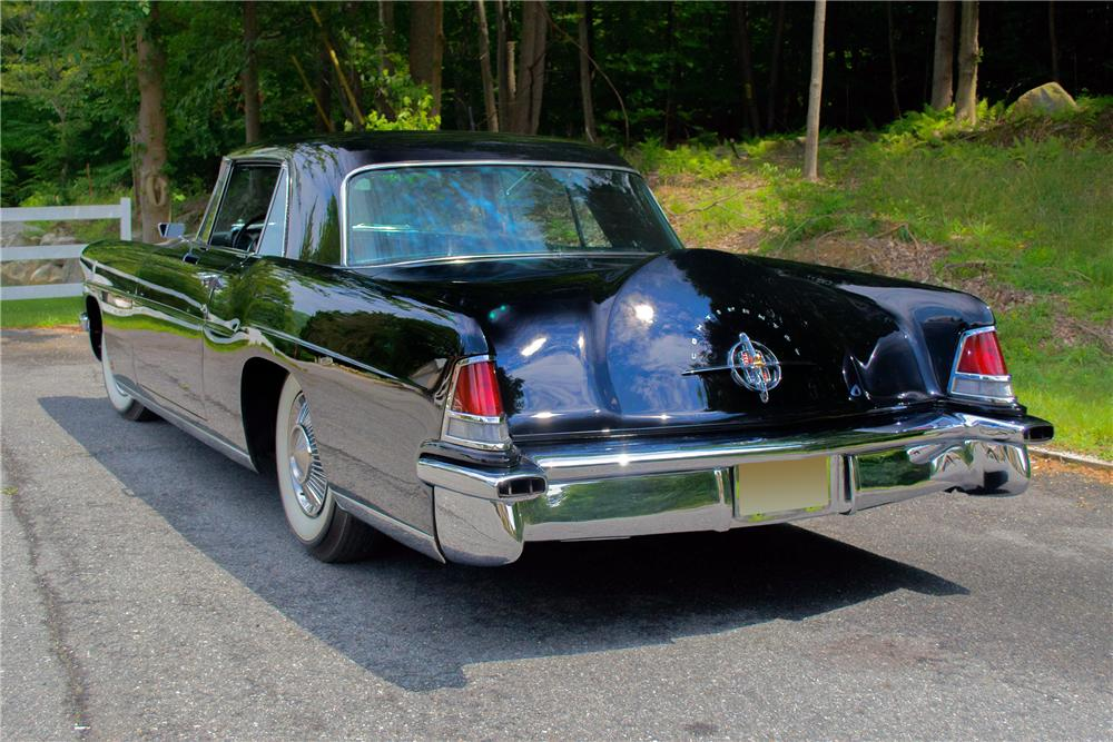1956 LINCOLN CONTINENTAL MARK II 2 DOOR COUPE - Rear 3/4 - 157313