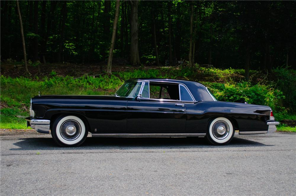 1956 LINCOLN CONTINENTAL MARK II 2 DOOR COUPE - Side Profile - 157313