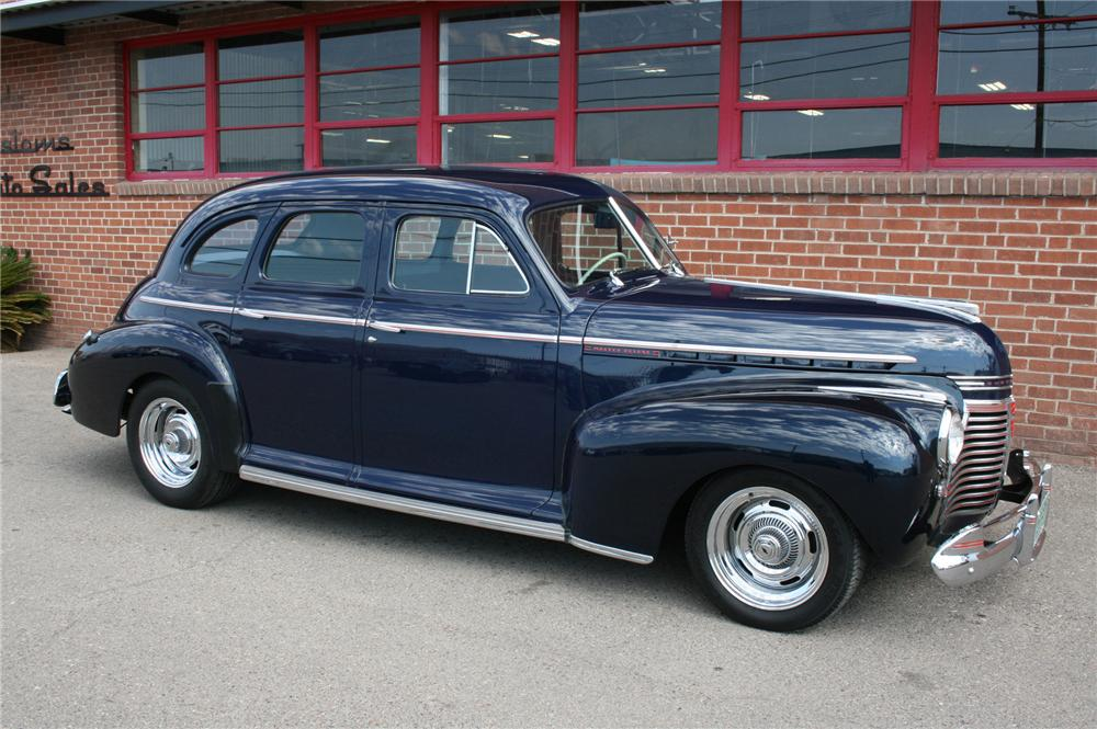1941 chevrolet master deluxe custom 4 door sedan 157319