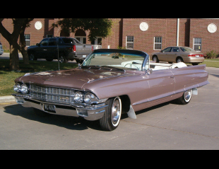 1962 CADILLAC SERIES 62 CONVERTIBLE -  - 15732