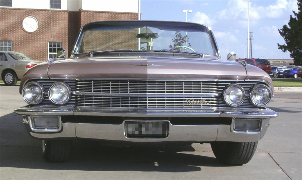 1962 CADILLAC SERIES 62 CONVERTIBLE - Engine - 15732