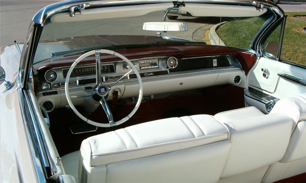 1962 CADILLAC SERIES 62 CONVERTIBLE - Interior - 15732