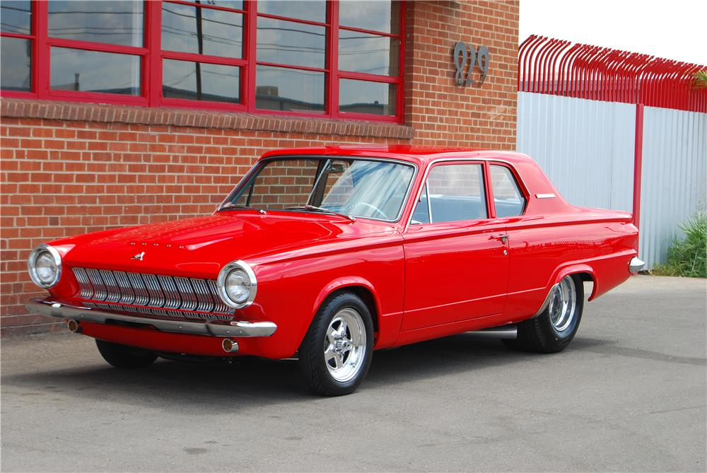 1963 DODGE DART CUSTOM 2 DOOR SEDAN - Front 3/4 - 157320