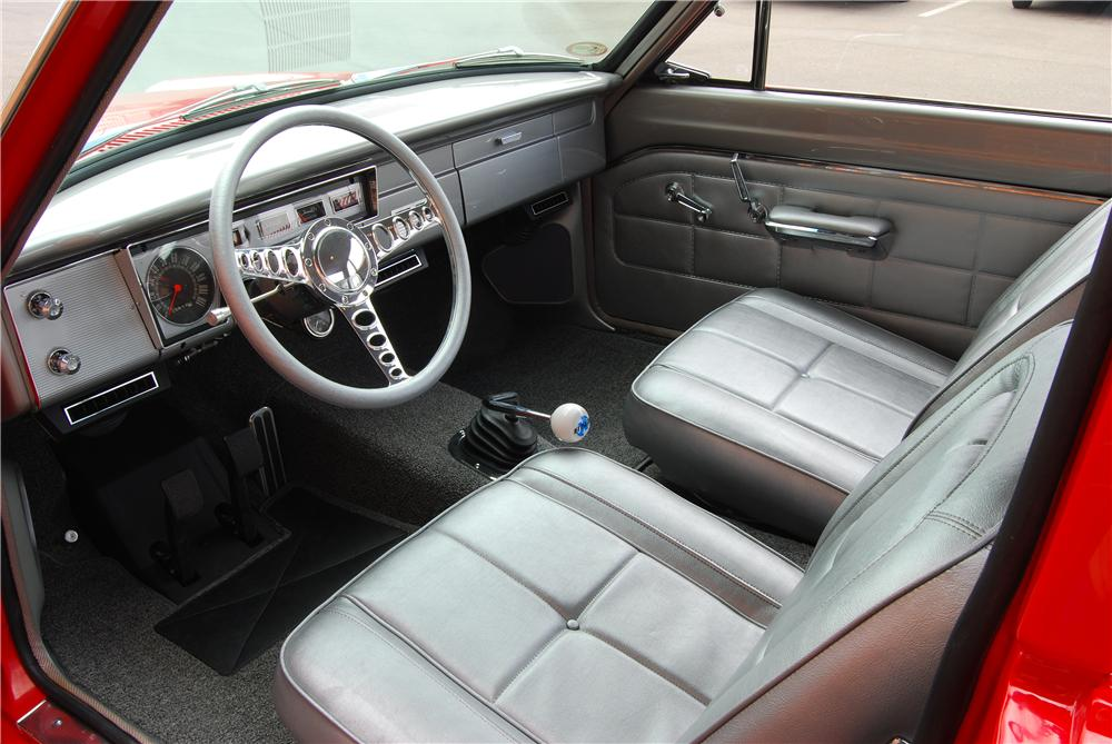 1963 DODGE DART CUSTOM 2 DOOR SEDAN - Interior - 157320