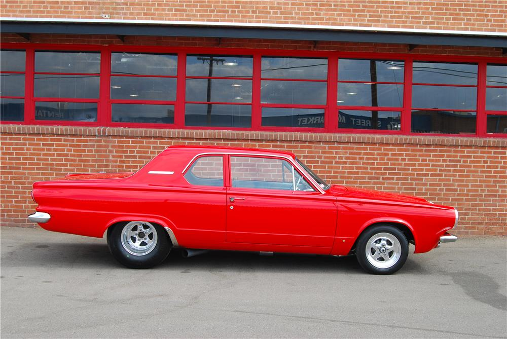 1963 DODGE DART CUSTOM 2 DOOR SEDAN - Side Profile - 157320