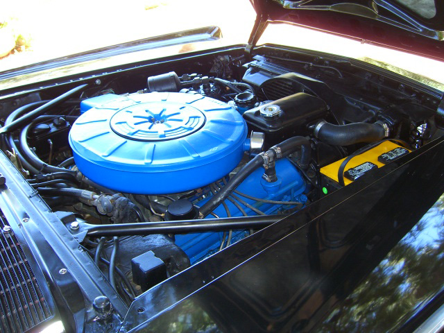 1967 LINCOLN CONTINENTAL CONVERTIBLE - Engine - 157322