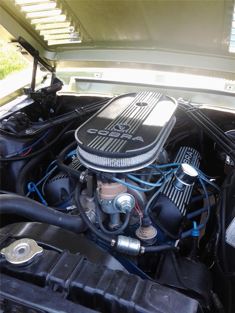 1968 SHELBY GT350 CONVERTIBLE - Engine - 157326