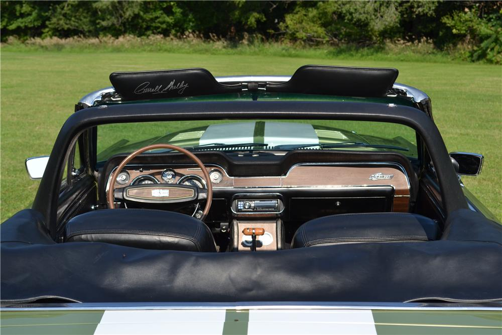1968 SHELBY GT350 CONVERTIBLE - Interior - 157326