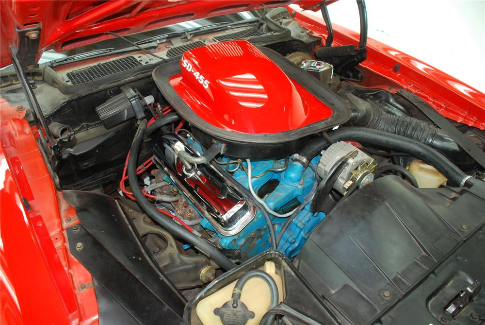 1974 PONTIAC FIREBIRD TRANS AM SUPER DUTY COUPE - Engine - 157327