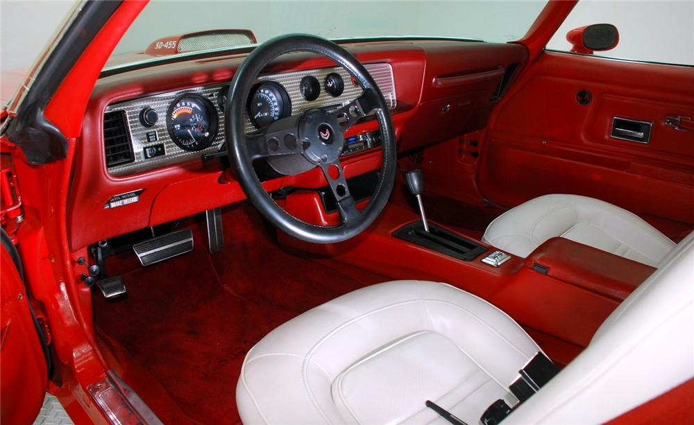 1974 PONTIAC FIREBIRD TRANS AM SUPER DUTY COUPE - Interior - 157327