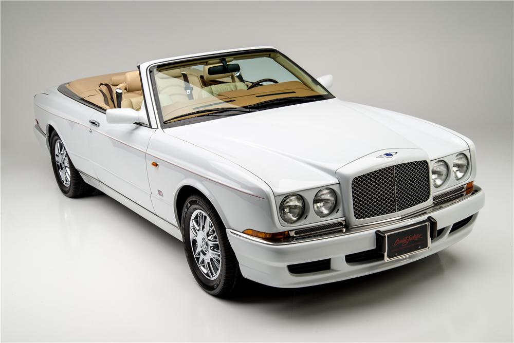 1999 BENTLEY AZURE CONVERTIBLE - Front 3/4 - 157331