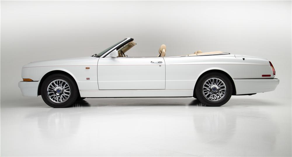 1999 BENTLEY AZURE CONVERTIBLE - Side Profile - 157331